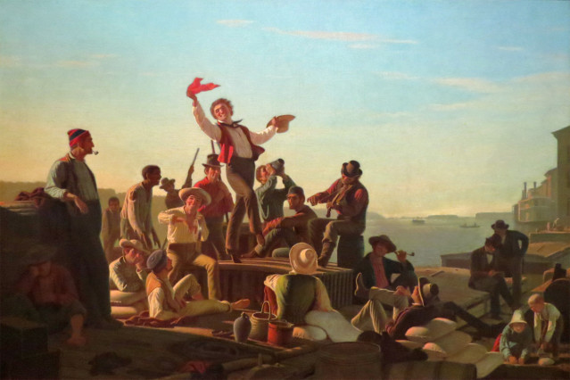 jolly-flatboatmen-in-port-george-caleb-bingham-1857